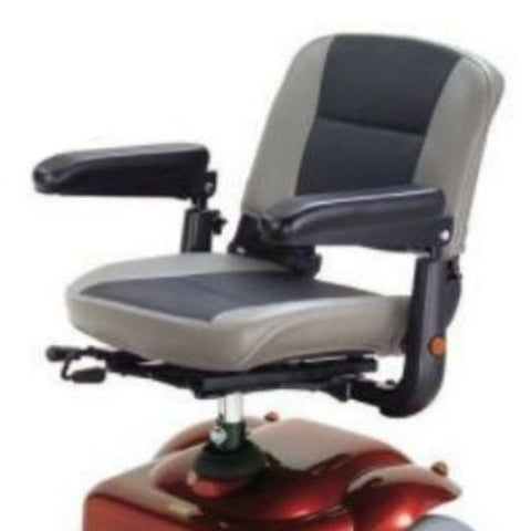 Merits Health S235 Pioneer 3 Wheel Mobility Scooter Seat View