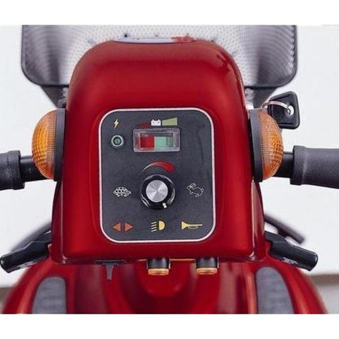 Merits Health S331 Pioneer 9 DLX 3 Wheel Bariatric Scooter Dashboard