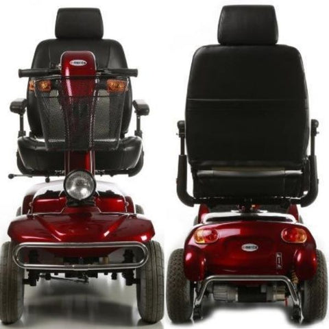 Merits Health S341 Pioneer 10 Bariatric 4 Wheel Scooter Front and Back View