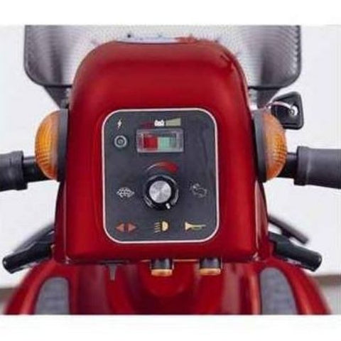 Merits Health S341 Pioneer 10 Bariatric 4 Wheel Scooter Tiller Controls