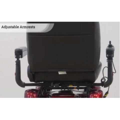 Merits P710 Atlantis Heavy Duty Electric Power Wheelchair Adjustable Armrests