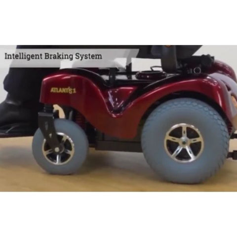 Merits P710 Atlantis Heavy Duty Electric Power Wheelchair Intelligent Braking System