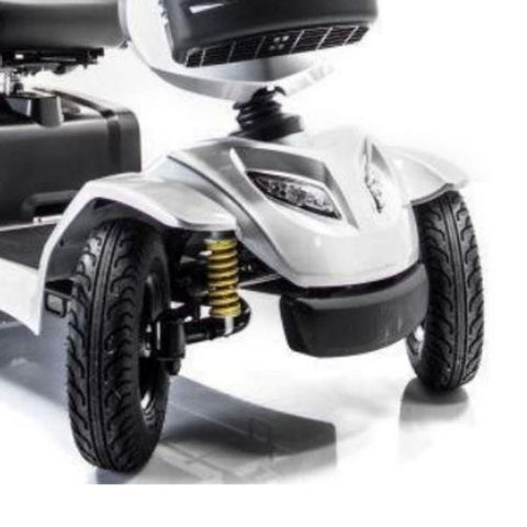 Merits S941A Silverado 4-Wheel Mobility Scooter Tire and Suspension View