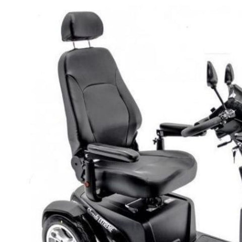 Merits S941L Silverado Extreme Bariatric Scooter Captains Chair View