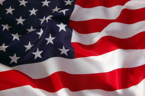 Pacesaver American Flag - Electric Wheelchairs USA