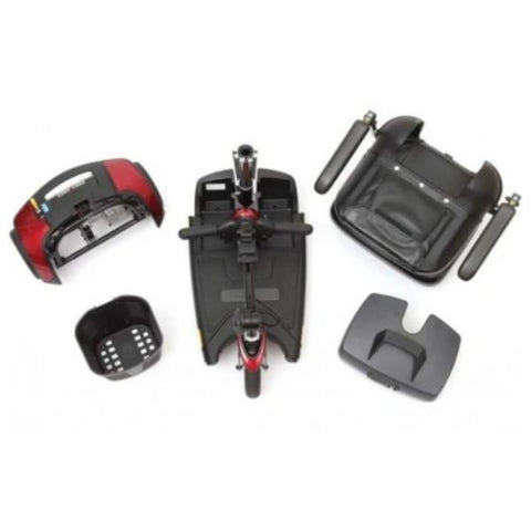 Pride Go-Go Elite Traveller Plus 3 Wheel Disassembled
