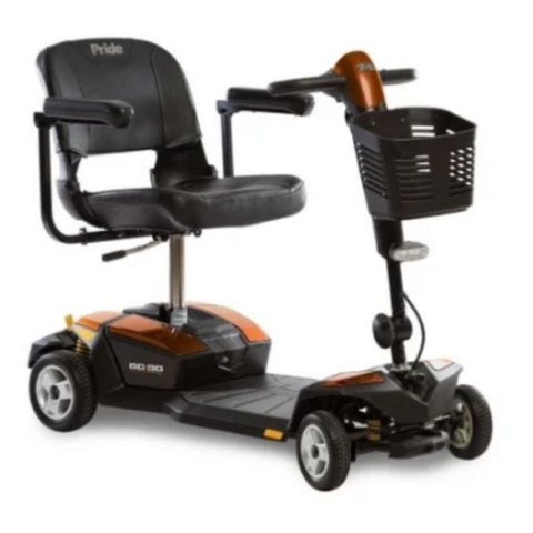 Pride Go-Go XL With CTS Suspension 4 Wheel Scooter