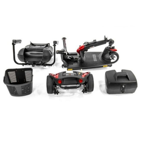 Pride Go-Go Sport 3 Wheel Scooter Disassembled