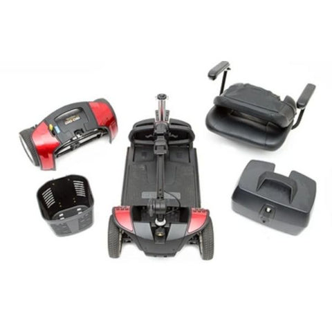 Pride Go-Go Sport 4 Wheel Scooter Disassembled