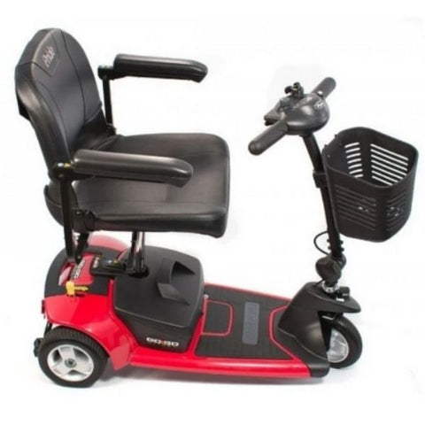 Pride Go-Go Ultra X 3 Wheel Scooter Side View