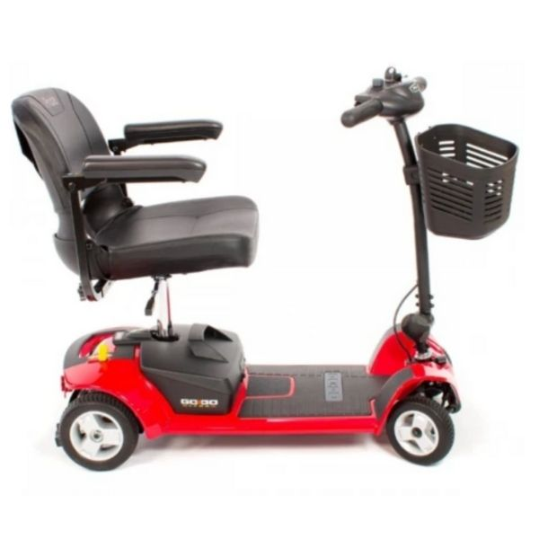 Pride Go-Go Ultra X 4 Wheel Scooter Side View