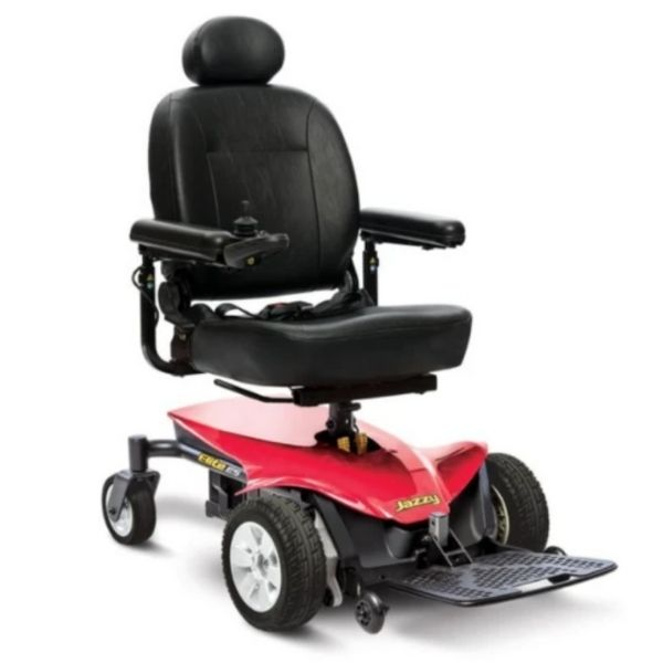 Pride Jazzy Elite ES Power Wheelchair Red