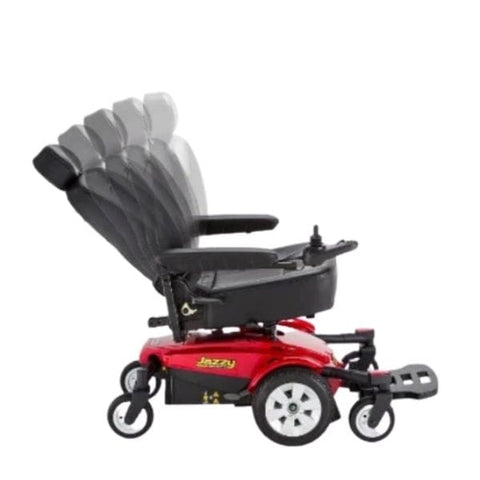 Pride Jazzy Select 6 Adjustable Seat View