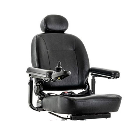 Pride Jazzy Select Mid-Wheel Power Chair Seat View