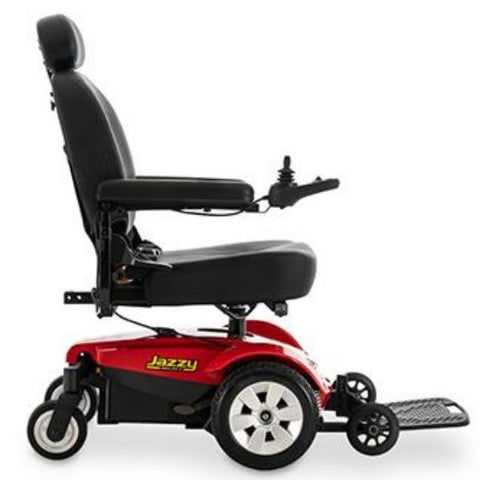 Pride Jazzy Select Mid-Wheel Power Chair Side View