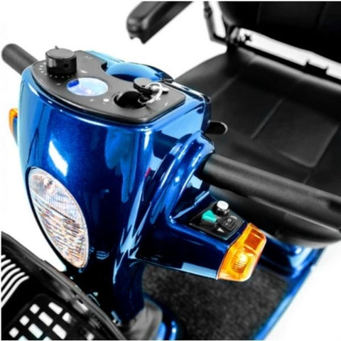 Pride Maxima 3 Wheel Scooter Headlight View