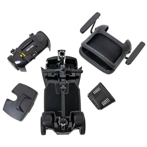 Pride Go-Go Ultra X 4 Wheel Scooter SC44X Disassemble View