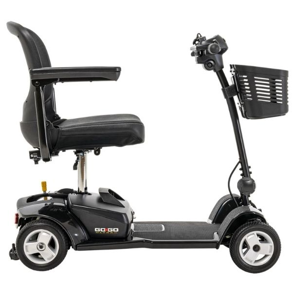 Pride Go-Go Ultra X 4 Wheel Scooter SC44X Right Side View