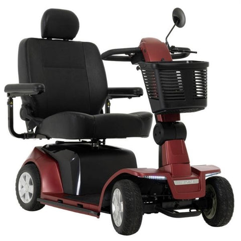 Pride Maxima Heavy Duty 4 Wheel Scooter Red Right View