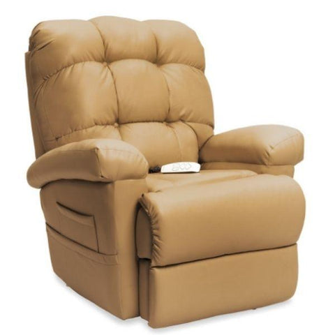Pride Mobility Oasis Collection Zero Gravity LC-580i Lift Chair Ultraleather Pecan Seat View