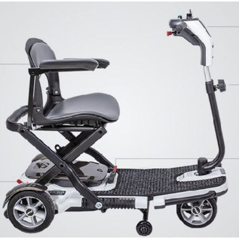 Pride Go-Go Folding Scooter S19WH1001 Side View