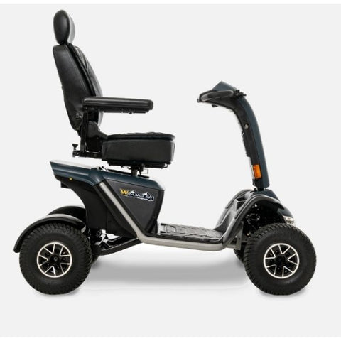 Pride Mobility Wrangler Heavy Duty Outdoor Scooter Side View