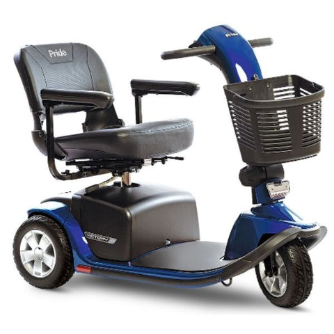 Pride Victory 10 3-Wheel Scooter SC610 Blue Side View