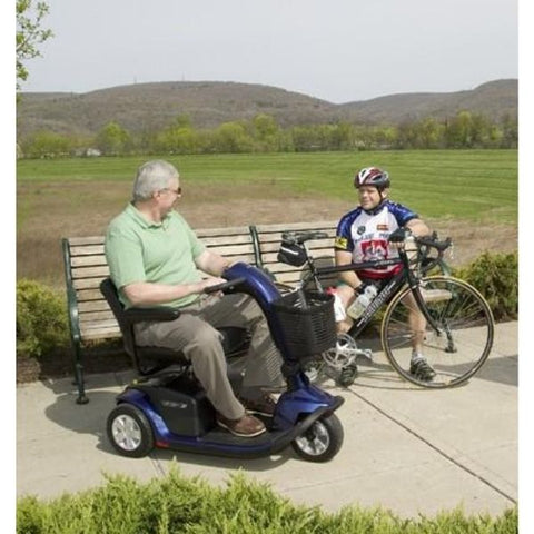 Pride Victory 10 3-Wheel Scooter SC610 With Person Riding