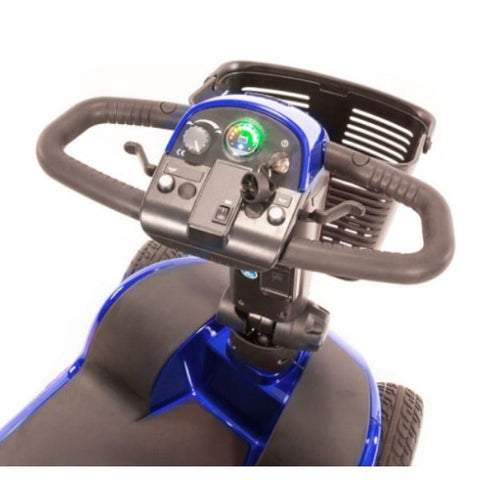 Pride Victory 10 4-Wheel Power Scooter SC710 Control Panel View
