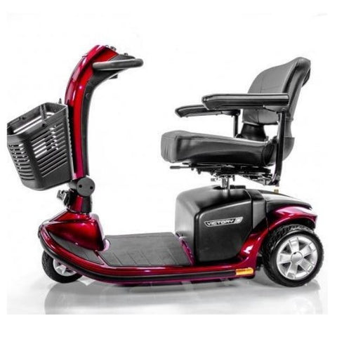 Pride Victory 9 3-Wheel Red Mobility Scooter SC609