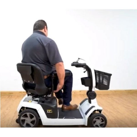 Pride ZT10 4-Wheel Mobility Scooter Swivel Seat