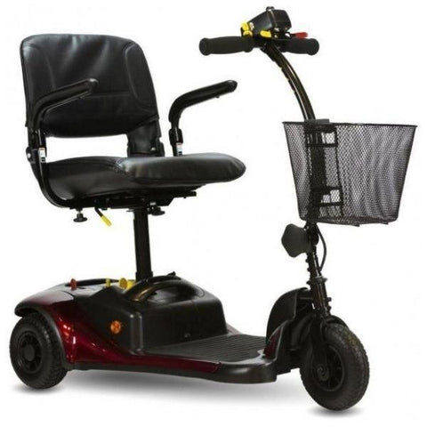Shoprider Dasher Portable 3 Wheel Scooter Front View