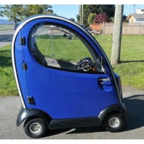 Shoprider Flagship Blue Enclosed Scooter