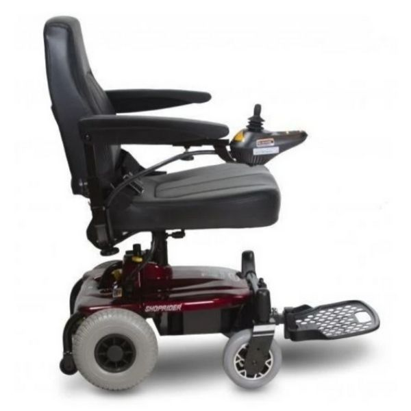 Shoprider Jimmie Power Wheelchair Side View
