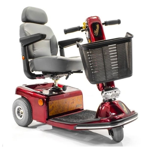 Shoprider Sunrunner 3 Wheel Scooter Front View