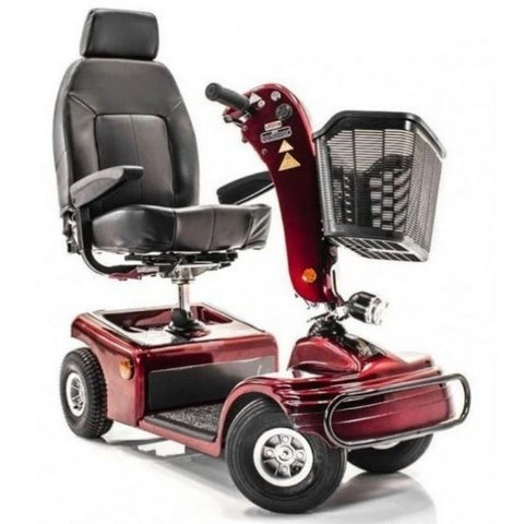 Shoprider Sunrunner 4 Wheel Scooter Front Right View