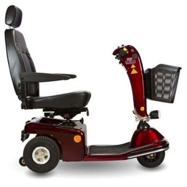 Shoprider Sunrunner 3 Wheel Mobility Scooter Side View