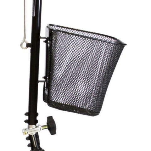 Shoprider Scootie 4-Wheel Mobility Scooter TE-787NA Front Basket View