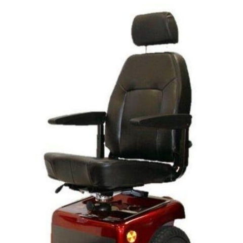 Shoprider Sprinter XL4 Heavy Duty 4-Wheel Mobility Scooter 889NR Seat View
