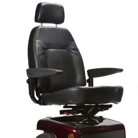 Shoprider Sunrunner 3 Mobility 3-Wheel Scooter Seat View