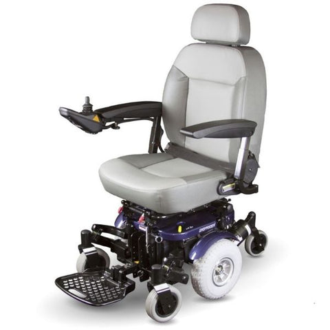 Shoprider XLR Plus Electric Wheelchair 858WM Left Side View