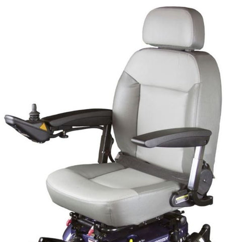 Shoprider XLR Plus Electric Wheelchair 858WM Seat View