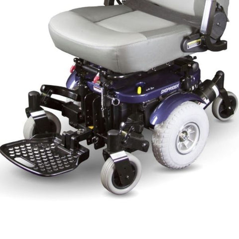 Shoprider XLR Plus Electric Wheelchair 858WM Wheels View