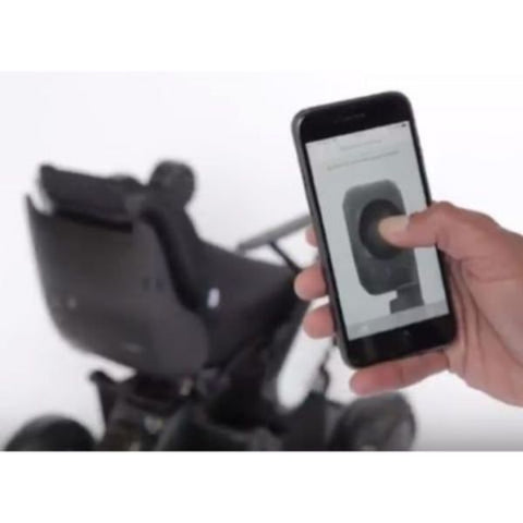 Whill Model C Portable Power Wheelchair Device Remotely View