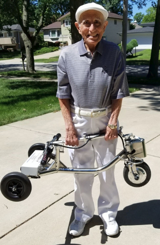 folding travel scooter