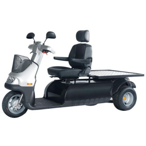 AFIKIM Afiscooter M 3 Wheel Bariatric Scooter Right Side View