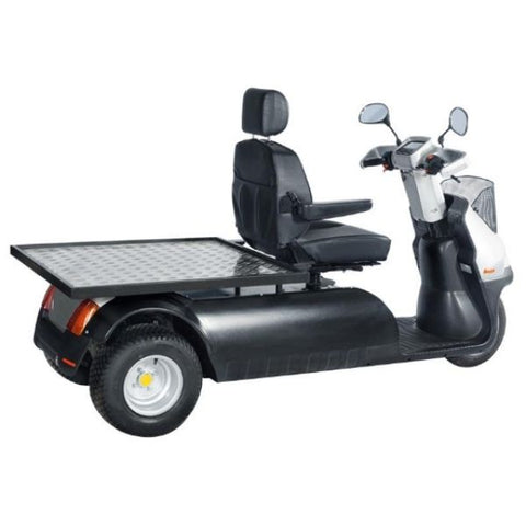 AFIKIM Afiscooter M 3 Wheel Bariatric Scooter Side View