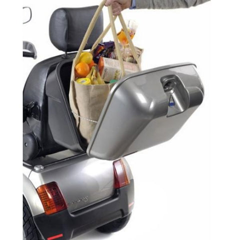 AFIKIM Afiscooter S 3 Wheel Scooter Back Storage View