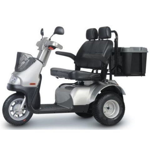 AFIKIM Afiscooter S3 Wheel Scooter Left Side View