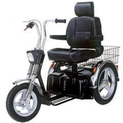 AFIKIM Afiscooter SE 3-Wheel Bariatric Scooter-500 lbs Front View